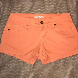 ZCO Pants - Cute orange color shorts (very lightly used)