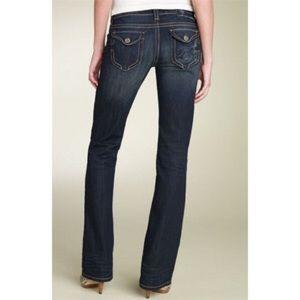 MEK Denim - MEK Denim Tacoma Bootcut Jeans, size 24