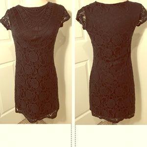 Xhilaration Black Lace Dress