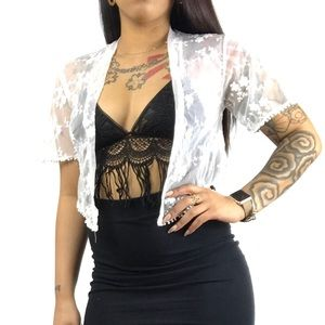 Boho Lace cover up