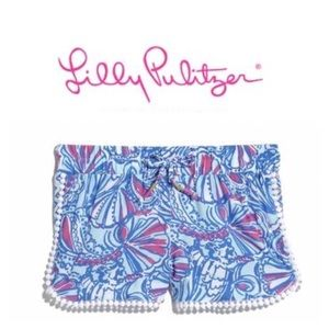 Lilly Pulitzer for Target Other - NWT Lilly PULITZER my fans kids shorts XS 4 5