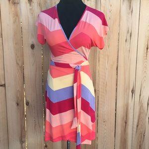 Tart Dresses & Skirts - 🎉HP🎉 🎁 Color Block Wrap Dress