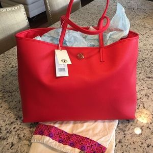 NWT and dust bag Tory Burch Cameron tote
