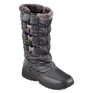 Totes Shoes - Totes Bryce Buckle Winter Boots