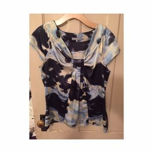 Violet & Claire Tops - 2 for $15 Watercolor style blouse