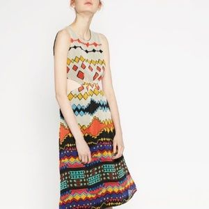 Zara Trafaluc TRIBAL Dress