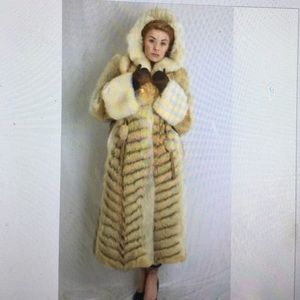 Jackets & Blazers - Beautiful Fox Coat with Hood