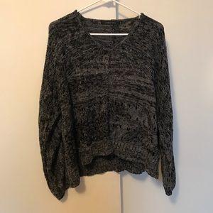 Lauren Vidal Sweaters - Lauren Vidal cardigan-metallic weave