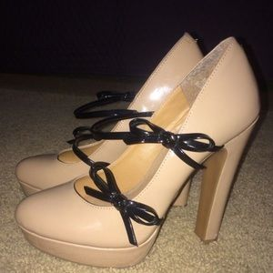 bowed heels