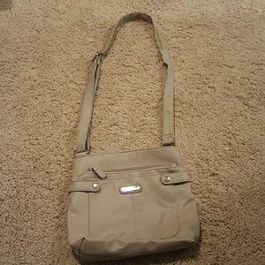 Neutral Cross Body Bag