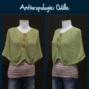 "Anthropologie Jackets & Blazers - 2004 Anthro ""Verandah Capelet"" by Odille"