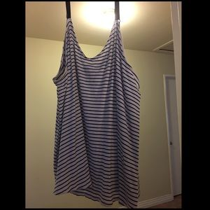 Torrid Navy/White Striped Cami