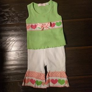 Kids Headquarters Other - Two Piece Summer Pant Set