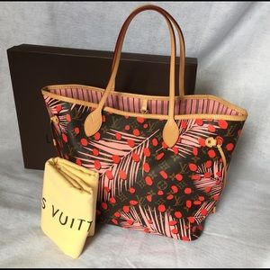 Louis Vuitton Handbags - ❤Auth Louis Vuitton Neverfull MM Limited Edition❤
