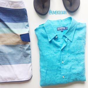 Vilebrequin Other - Vilebrequin Linen Button Down Shirt