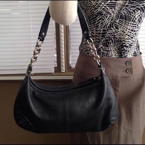 Elliott Lucca Handbags - Elliott Luca black soft leather bag