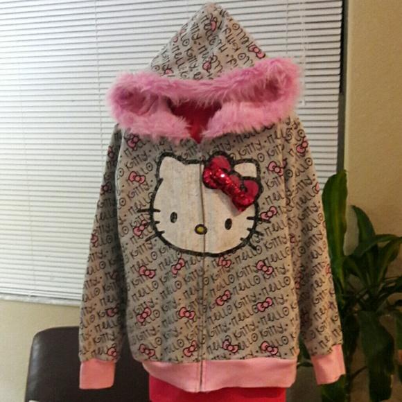 74dd20122 Sanrio Jackets & Coats | Girls Hello Kitty Jacket | Poshmark