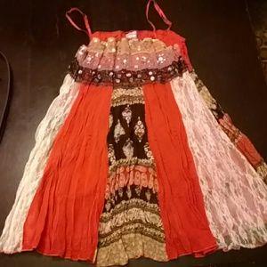 Rave Tops - Boho goddess camisole
