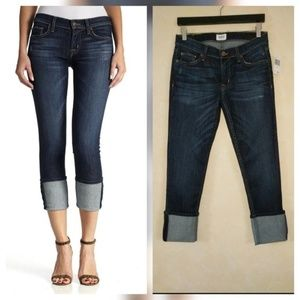 Hudson Muse Skinny Cropped Jeans