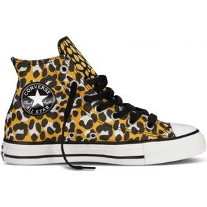 Converse Shoes - Converse All Star Animal Print High Top Sneakers
