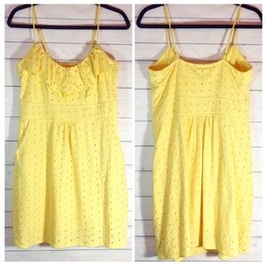 Lilly Pulitzer Dresses - Lilly Pulitzer Sunny Yellow Sundress Medium EUC