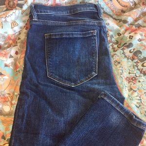 Banana Republic Medium Wash Skinny Ankle Jeans- 27