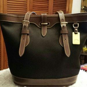 Dooney and Bourke  Handbags - Dooney and Bourke Brown Bucket Shoulder Bag