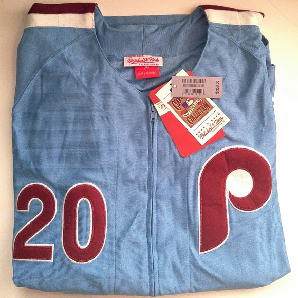 buy online 40421 1f662 Authentic Phillies-Mike Schmidt-Powder Blue Jersey NWT