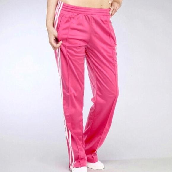 fe4a65f2381d Adidas Pants - Adidas Original Pink Firebird 3 Stripe Track Pants