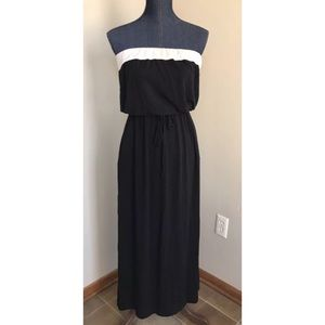 J.Crew Strapless Maxi Dress