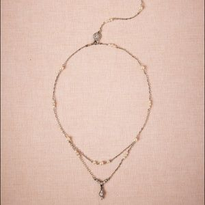 Ben-Amun Jewelry - Bhldn drop-back necklace
