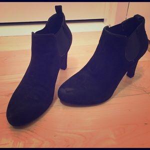 Tahari Shoes - Tahari sacha suede booties