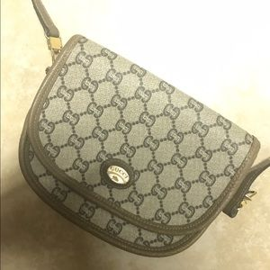 Vintage Gucci Plus Crossbody Bag