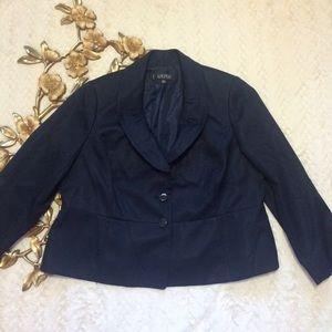 Kasper Jackets & Blazers - Women's Kasper Navy Blazer Size 18W