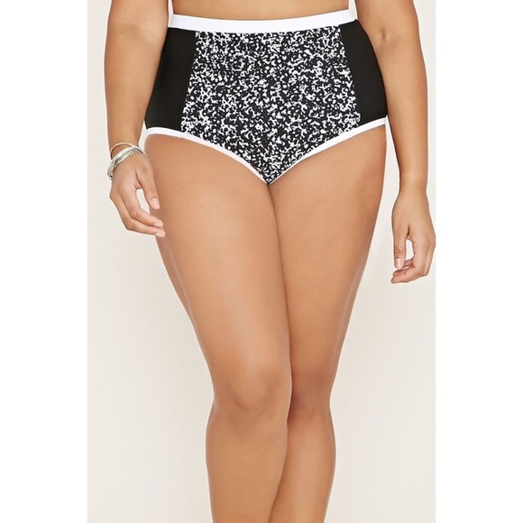 Forever 21 Other - High-Waisted Swim Bottoms