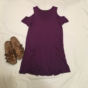 James & Joy Dresses & Skirts - {James & Joy} summer cold shoulder dress.
