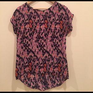 Evereve Tops - Caramela hi low blouse size medium notch back