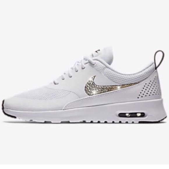 Bling Nike Air Max Thea Shoes w  Swarovski Crystal.  M 58b8edb04e95a3fecc010200 5ee266e8e