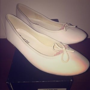 Repetto Shoes - NEW Authentic White Repetto Ballerina Flats