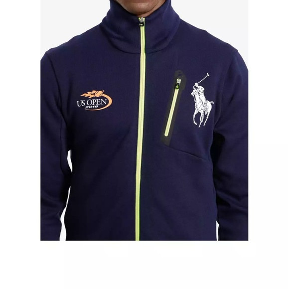 2016 Us Nwt Jacket Unisex Polo Open f6ygb7