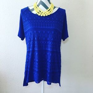 Loveappella Tops - Cheerful blue shirt 💙