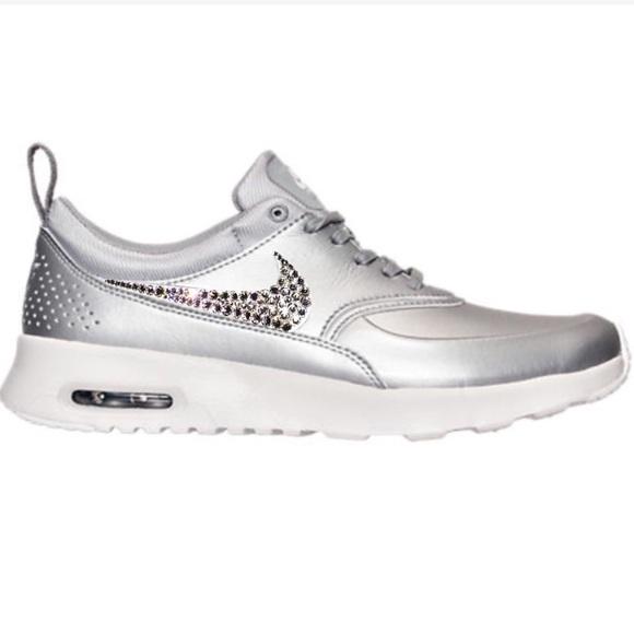 c6b522b5482c2b Bling Nike Air Max Thea Shoes w  Swarovski Crystal