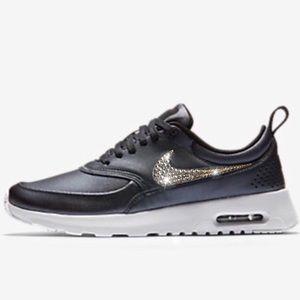 31b5ecdb5a8e Bling Nike Air Max Thea Shoes w  Swarovski Crystal