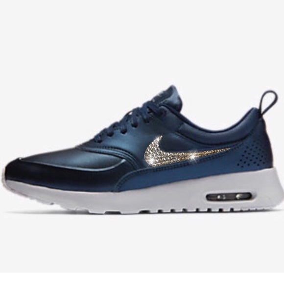 1167382a38 Nike Shoes | Bling Air Max Thea W Swarovski Crystal | Poshmark