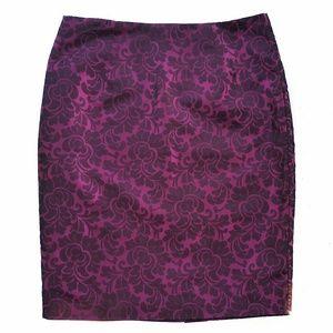 SUNNY LEIGH Floral Skirt