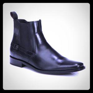 Hugo Boss Other - NEW Hugo Boss Men's Laxis Black Leather Boot
