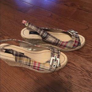 American Eagle Wedge Sandals