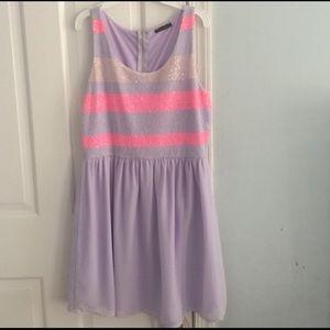 Dresses & Skirts - Boutique  chiffon dress peach pink