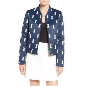 ModCloth reversible bomber jacket.