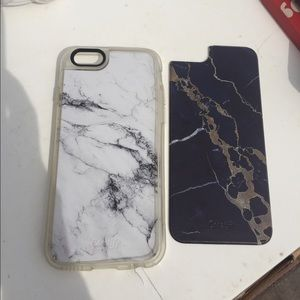 Casetify Accessories - Casetify faux marble case 2 for 1!!!